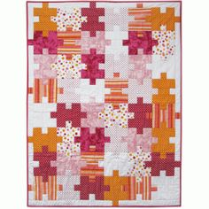 Connect the Dots - Baby Girl Quilt Pattern