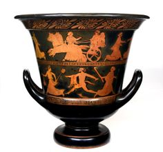 Greek Vase - Attica, c. 440 B.C.,  terracotta.