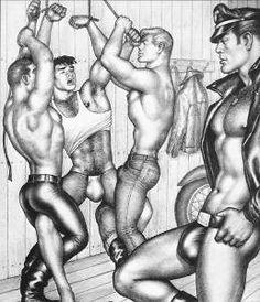 dibujo de chico hawaiano gay