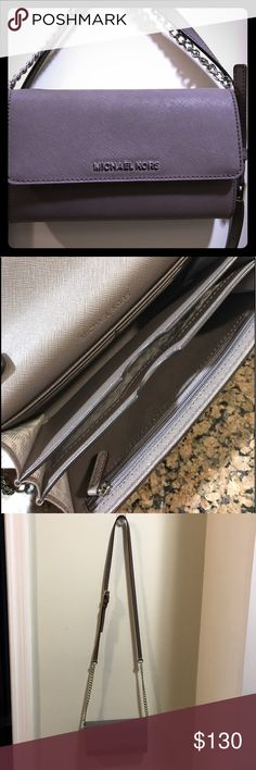 MICHAEL Michael Kors Phone Crossbody Bag MICHAEL Michael Kors Phone Crossbody Bag. Used once perfect condition Michael Kors Bags Crossbody Bags