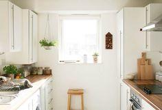Cocina de diseño escandinavo y bien organizada http://ini.es/1Ln1s7r #CocinaDeDiseñoEscandinavo, #DiseñoNórdico, #OrganizarUnaCocina