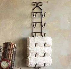 идеи для полок для полотенец