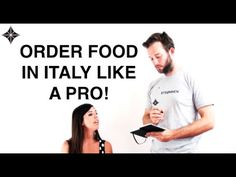 How to order food in Italian like a Pro at a Restaurant! - Free Italian ...