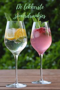 Wine Drinks, Cocktail Drinks, Cold Drinks, Cocktails, Smoothies, Baking Recipes, Healthy Recipes, Non Alcoholic, Iced Tea