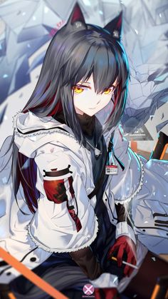 Safebooru is a anime and manga picture search engine, images are being updated hourly. Anime Girl Neko, Manga Girl, Fille Anime Cool, Art Anime Fille, Anime Wolf Girl, Cool Anime Girl, Art Manga, Chica Anime Manga, Pretty Anime Girl