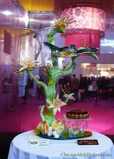 Sugar Showpiece - Coupe du Monde de la Patisserie '09 - The Chicago School of Mold Making