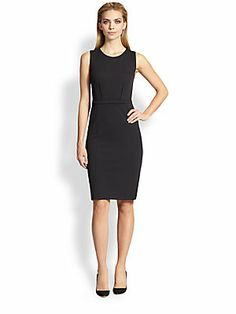 Armani Collezioni Milano Jersey Sheath Dress perfect corporate style