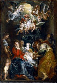Peter Paul Rubens, La circoncisione di Cristo, Chiesa del Gesù, Genova