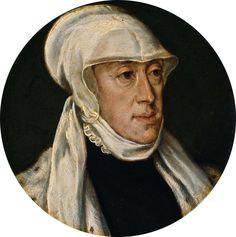 Aankomst van Maria van Hongarije in de Nederlanden - zij zal Margaretha van Oostenrijk opvolgen als landvoogdes.