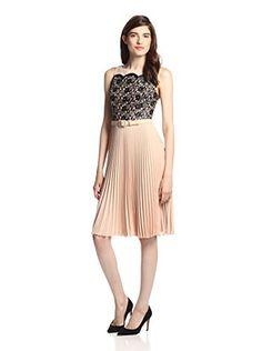 Eva Franco Women's Claudette Dress (Tuxedo Lace)