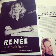 Confessions of a former super model. Renée Toft Simonsen is a cool lady.