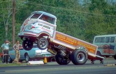 Vintage Drag Racing - Wheelstander - The Chuck Wagon