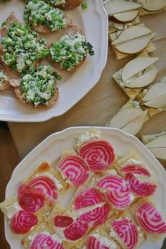 ... chive butter. Tea Sandwiches! #galentines and #valentines party ideas