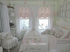 decoração provençal e shabby chic quarto (1)