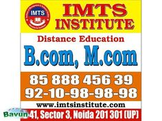 IMTS INSTITUTE- Distance Education Courses MBA It is our hardheartedly endeavor, in order to avail all required information in exquisite care, as well try to deliver all ...