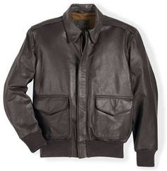 Houston Mens Leather Bomber Jacket