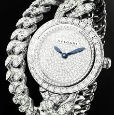 Bvlgari Bvlgari Gold, Bvlgari Ring, Bvlgari Watches, Elegant Watches, Beautiful Watches, Gold Money, Expensive Watches, High Jewelry, Bracelet Watch