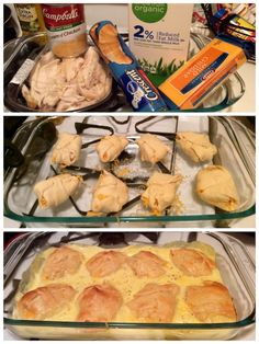 Chicken Cheese Crescent Wraps! A quick and easy chicken recipe.
