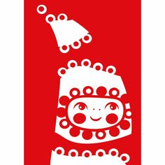 Christmas card by  Finnish PAAPII DESIGN