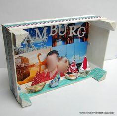 Eine #Reise nach Hamburg- als #Geschenk im Kasten   http://eris-kreativwerkstatt.blogspot.de/2016/02/eine-reise-nach-hamburg-als-geschenk-im.html  #stampinup #teamstampingart #verpackung