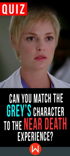 Quiz: Can you remember the Grey's near death experiences? Test your near death knowledge here. you've been through a lot with the Grey's deaths and near deaths but were you really paying attention? Test yourself. GA quiz, Shonda Rhimes, Grey's quiz, Greys Anatomy test. Basically, every Grey's character has been close to death. Do you remember them all?