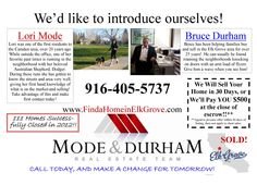 Meet Your Elk Grove Real Estate Agents
