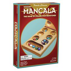 Find Mancala Game at Michaels. Our exclusive version of this simple strategy game features colorful animals that appeal to kids. Our exclusive version of this simple strategy game features colorful animals that will appeal to kids. Details:Wood game board with hinge 48 colorful plastic pieces, rules, For 2 players, For ages 6 and up | Mancala Game By Pressman Toys | Michaels®