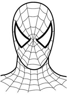 SpiderMan Colouring Pages thumb