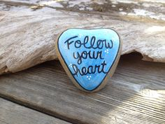 Follow Your Heart on Etsy, $15.00