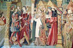 Musee du Moyen Age - Tenture de chœur - Scènes de la légende de saint Etienne