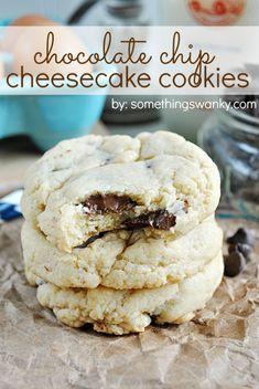 cheesecak cooki, chocolate chips, chocolates, cheesecakes, food, chip cheesecak, chocol chip, dessert, cheesecake cookies