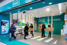 Base store by Minale Design Strategy, Hornu – Belgium