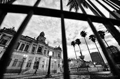 Amanhecer, pelas 06:00 da manhã.  Porto Alegre - RS - BR  21.03.2012