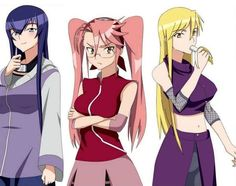 High School of the Dead, Naruto style