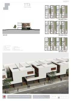 BIDV Village, housing typology by Phan Duy Quang, via Behance: Social Housing Architecture, Architecture Plan, Residential Architecture, Interior Architecture, Contemporary Architecture, Typology Architecture, Architecture Definition, Architecture Drawings, Building Design