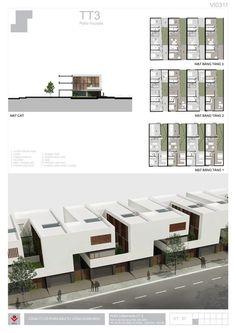 BIDV Village, housing typology by Phan Duy Quang, via Behance: