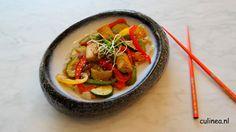 Szechuan tofu roerbak
