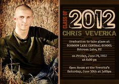 Photo Graduation Announcement - Personalize