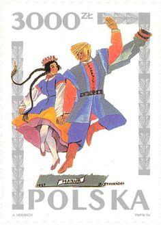1994 Poland - Mazurka dance