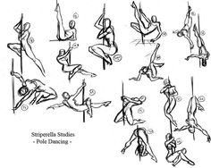 steven e. gordon. more pose (slash-pole) studies.