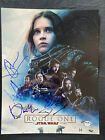 ROGUE ONE A STAR WARS STORY Autographed Signed 11x14 X5 Cast Photo PSA/DNA LOA Get it Fast! $500.00 Los Angeles Area, Star Wars Toys, Rogues, Dna, It Cast, Signs, Movie Posters, Shop Signs, Film Poster