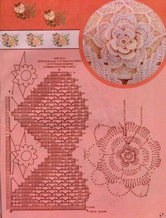 Pimp ypur home embroidery and crochet  free pattern