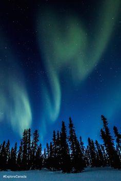 The best of Canada: Aurora Borealis in Eagle Plains, Yukon Territories | @explorecanada