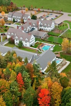The 120-room Essex Resort and Spa is a picturesque New England escape. #Jetsetter