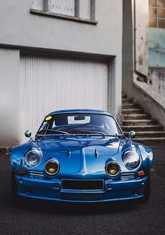 1972 Alpine A110 1860 Sport Cars, Race Cars, Bugatti, Renault Sport, Automobile, Classic Car Restoration, Automotive Group, Tuner Cars, Top Cars