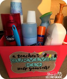 Step into Grade with Mrs. Lemons: Whole staff gifts (staff bathroom staff lounge etc)