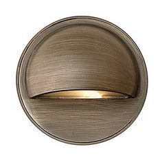 Hardy Island Matte Bronze Halogen Step or Deck Light - #2D399 | Lamps Plus