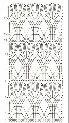 Crochet Patterns Dress Knitting with the spells, the hook and the car. Motif Bikini Crochet, Crochet Lace Scarf, Crochet Skirt Pattern, Crochet Skirts, Crochet Granny, Irish Crochet, Crochet Stitches Chart, Crochet Motifs, Crochet Borders