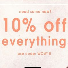 Sale. Flat 10% off everything.  #shopnow #shopsneakpeek #sneakpeekstore