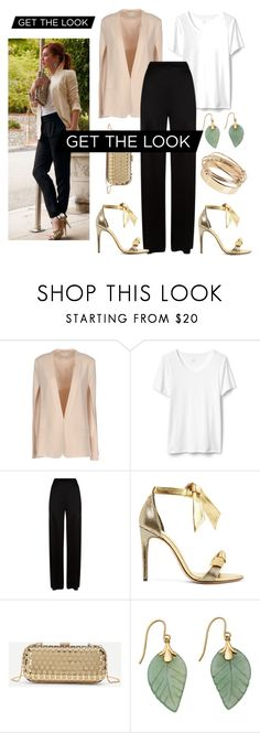 """""""Get the Look"""" by daisy-schilder ❤ liked on Polyvore featuring Pinko, Temperley London, Alexandre Birman and Valentino"""